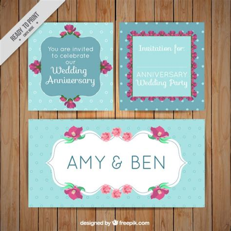 Wedding Card Ornaments by Wedding Cards With Floral Ornaments Vector Premium