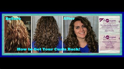 how to get my hair color back how to get your curls back recovering from heat and
