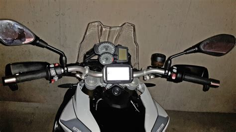 Navi Halterung F R Motorradlenker by Niedere Navi Halterung F 252 R Lenkerstreben 216 12 Schwarz