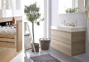 tablette salle de bain ikea hemnes meuble miroir