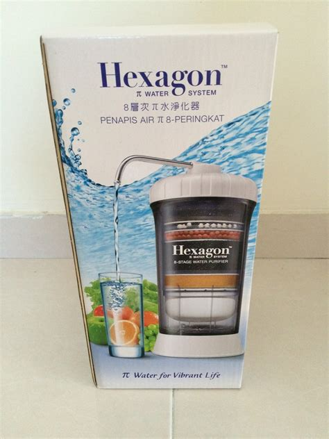 Air Purifier Cosway cosway hexagon 8 stage water purifier penapis air