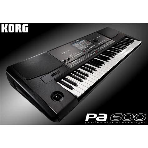 Keyboard Yamaha Dan Korg jual keyboard korg pa 600