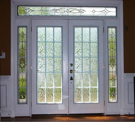 New Beauty Glass French Door With Sidelights Prefab Glass Entry Doors With Sidelights