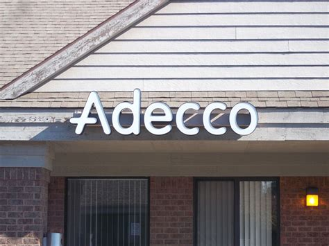 adecco johnson sign company