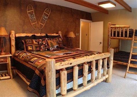 lodge style bedroom furniture 21 best images about rustic mountain lodge design ideas on