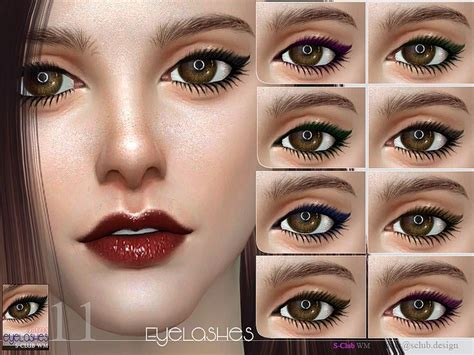 mod the sims acute eyeliner 10 styles 65 best the sims resource hair makeup images on