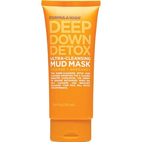 Muddy Detox by Formula 10 0 6 Detox Ultra Cleansing Mud Mask