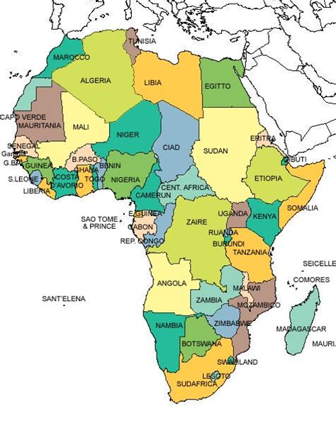 lafrica mappa africa carta geografica picture quotes