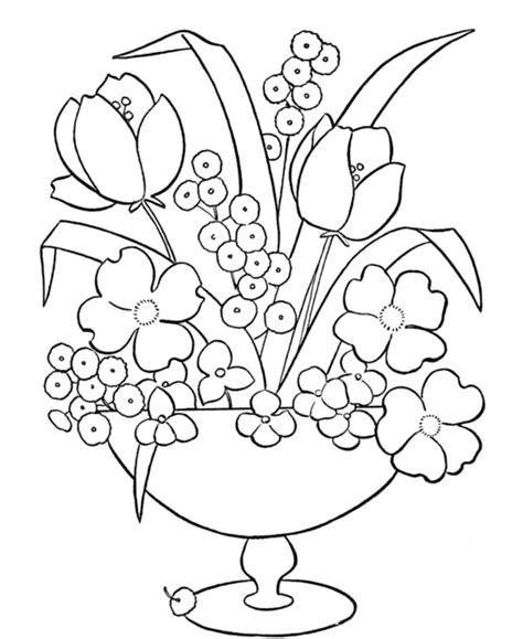 vasi con fiori da colorare disegni vasi di fiori playingwithfirekitchen