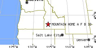 mountain home a f b idaho id population data races