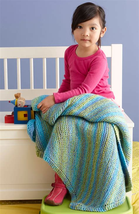allfree knitting soft easy baby throw allfreeknitting