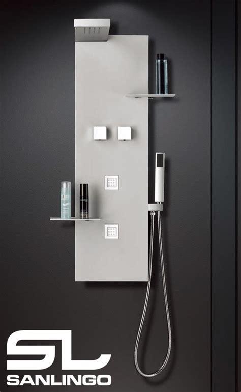 montaggio colonna doccia colonna doccia idromassaggio in acciaio inox soffione a