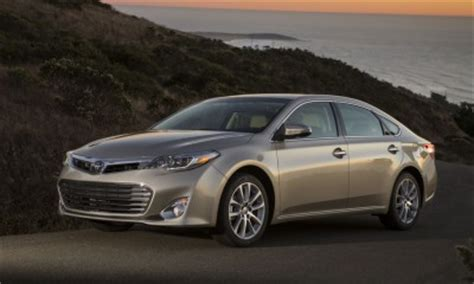 Toyota Avalon Gas Mileage 2014 Toyota Avalon Gas Mileage The Car Connection