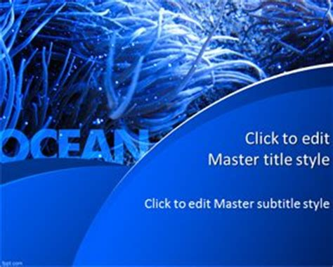 powerpoint templates free download ocean ocean ppt template free powerpoint templates