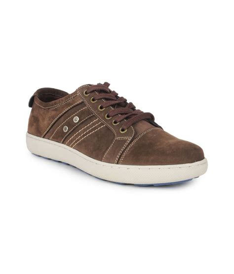 delchi brown casual shoes