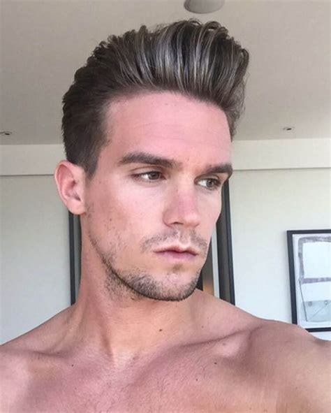 geordie shore s gaz beadle slicks his hair back with a gaz beadle admits he kept a sex spreadsheet of the women