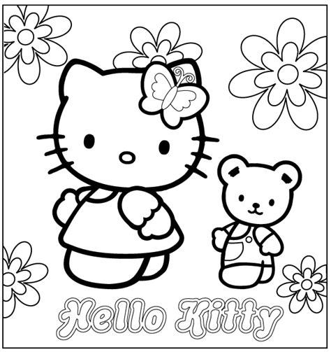 Imagenes De Kitty Mariposa | hello kitty著色圖02 giga circle