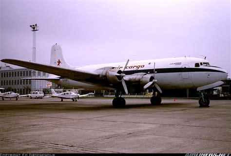 douglas c 54e skymaster dc 4 lwa air cargo liberia world airlines aviation photo