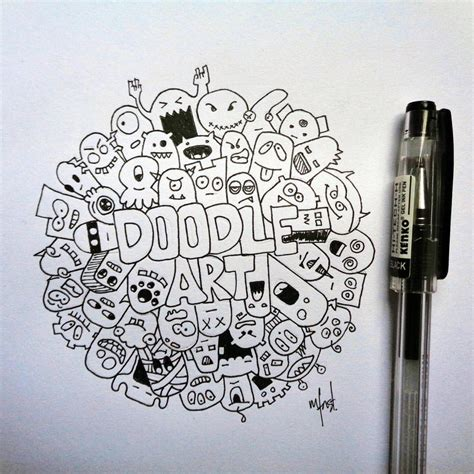 how to do doodle painting mfnst doodle by mfnst on deviantart