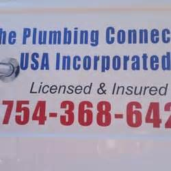 Plumbing Usa by The Plumbing Connection Usa Inc Idraulici Pompano