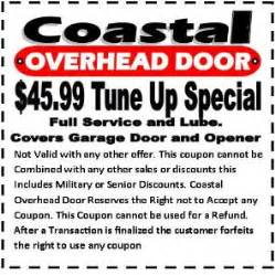 Overhead Door Coupon Garage Door Repair Coupons And Overhead Door Coupon