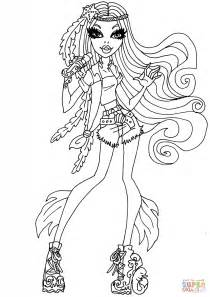monster high madison fear coloring pages madison fear coloring page free printable coloring pages