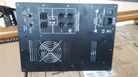 Kit Speaker Aktif Plus Subwoofer jual power kit aktif subwoofer 1000watt doremi musik