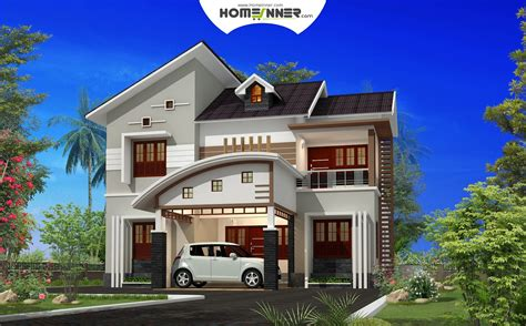 attractive 4 bhk small budget indian house plan