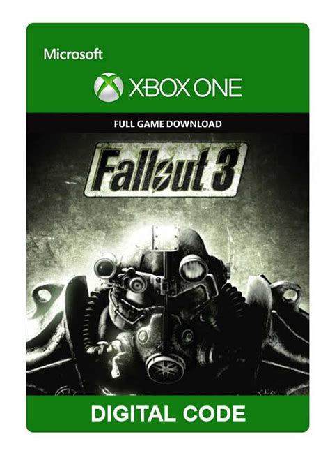fallout 3 console codes fallout 3 xbox one digital code