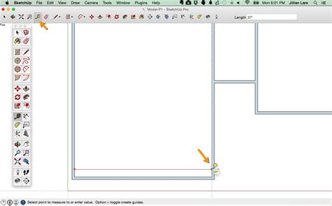 sketchup tutorial how to create a quick floor plan creating house plans sketchup house plans