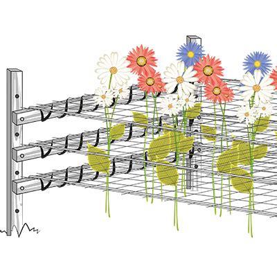 rete per fiori rete per ricanti rete sostegno per piante tenax