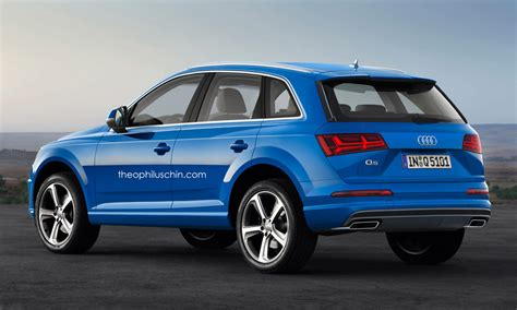 New Audi Q5 by Next Generation Audi Q5 With New Q7 Styling Cues Carscoops