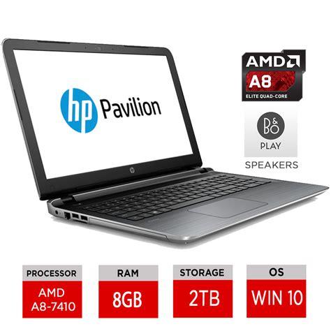 Laptop Amd A8 hp pavilion 15 ab150sa 15 6 quot windows 10 laptop amd a8 7410