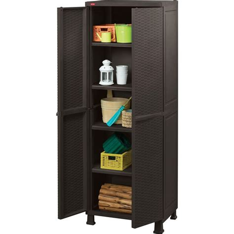 home design products keter new indoor outdoor plastic rattan tool cabinet pool