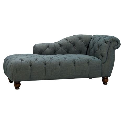 chaise lounge for teens pb teen emily merritt denim chaise decor look alikes