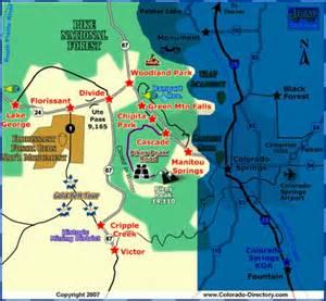 lake george colorado map peak realty management woodland park colorado area