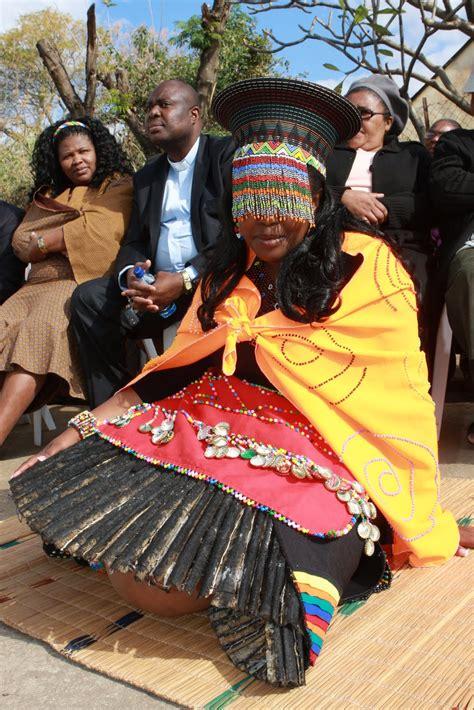 zulu traditional animal skin skirt wedding attire