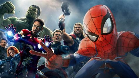 avengers spider man ps ign
