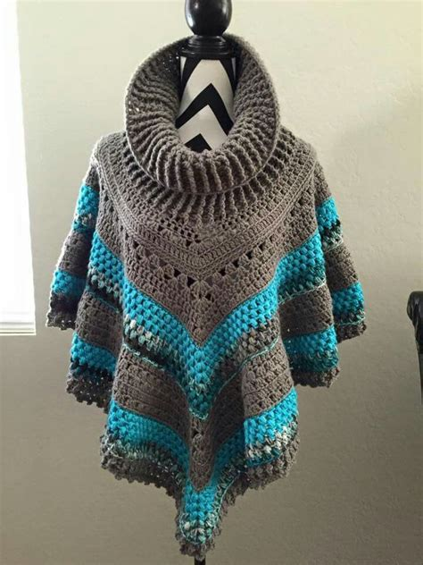 7 Beautiful Ponchos by 17 Best Crochet Square Shawl And Poncho Images On