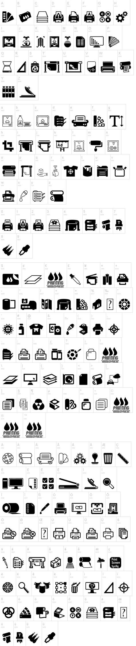 print truetype font download printing font dafont com