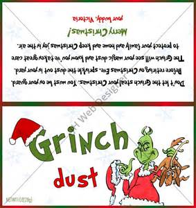 grinch template grinch dust design label jh web designer
