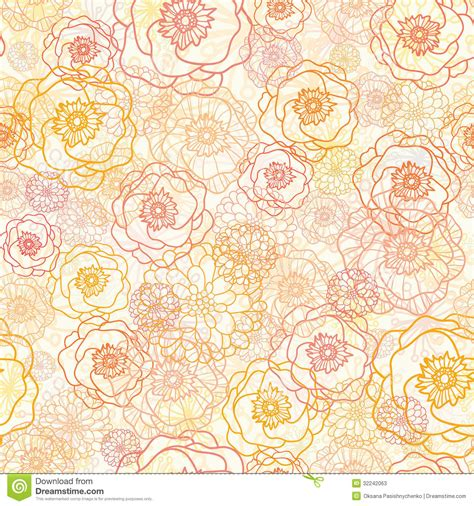 flowers seamless pattern element vector background warm flowers seamless pattern background stock photos