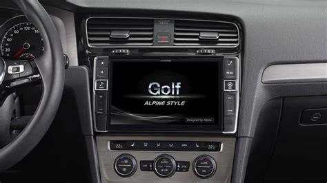 Autoradio X Golf 7 by Navigation Premium Alpine Style Pour Golf 7 Alpine