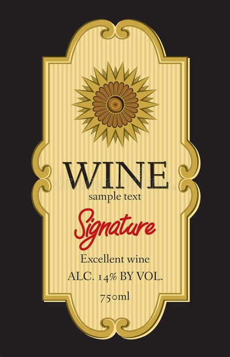 wine label design vector wine label design royalty free stock image image 31496256