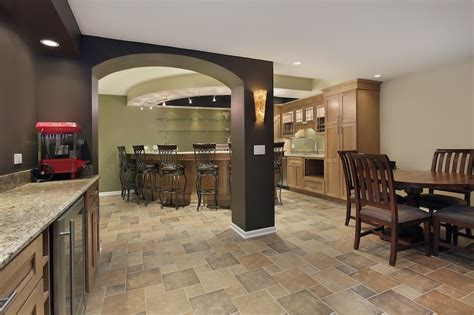 Atlanta Floor And Decor by Atlanta Basement Remodels Renovations By Cornerstone