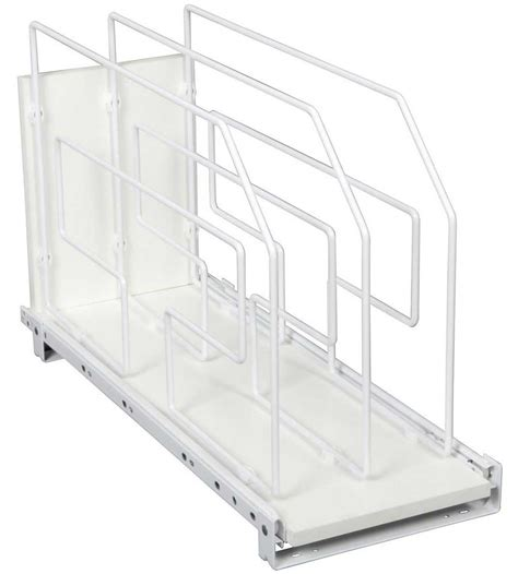 9 Inch Rack by Roll Out Tray Divider And Storage Rack 9 Inch In