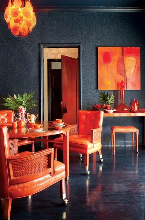 Orange Bathroom Decorating Ideas orange is the new black homedesignboard