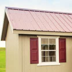 pros and cons of metal roofing for sheds gazebos and