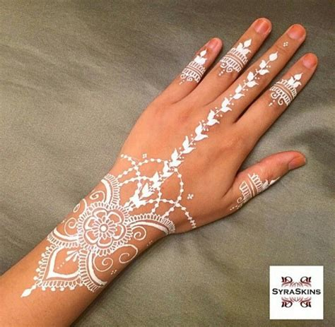 white henna tattoo on hand 17 best ideas about henna foot on foot