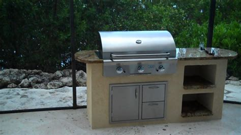 kitchen island grill outdoor kitchen with aog infrared hybrid built in gas grill